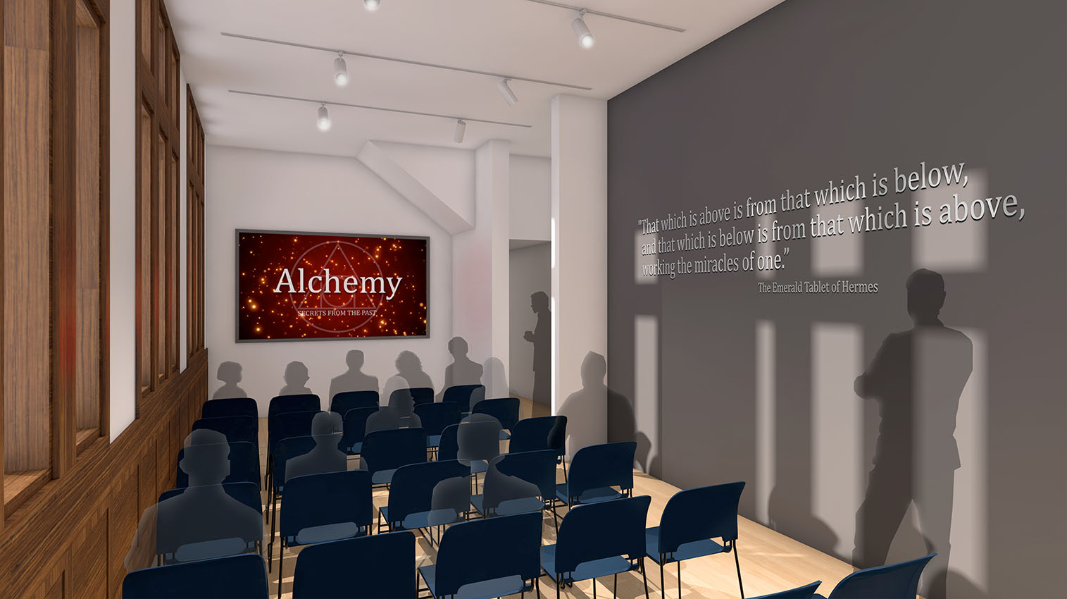 Alchemy Museum Intro Theater