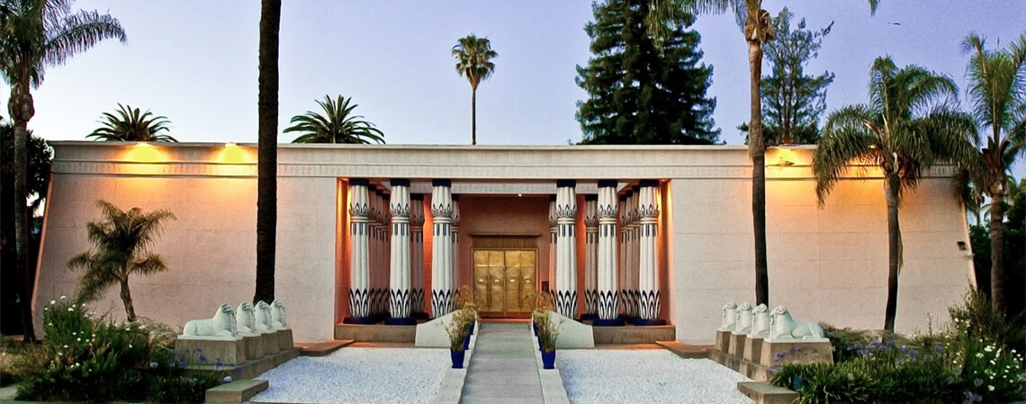 Rosicrucian Egyptian Museum - Inside is housed the largest collection of Egyptian, Assyrian, and Babylonian artifacts on exhibit in western North America