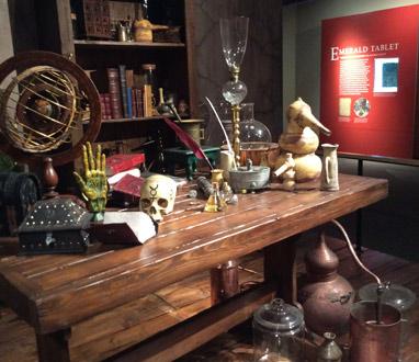Alchemy Exhibit at Rosicrucian Park